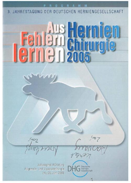 3. Jahrestagung 2005